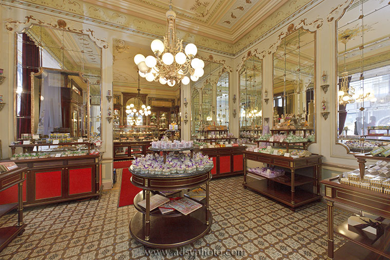 Adsy Bernart photographer architecture photography demel coffehouse timeout Vienna, Austria, Europe