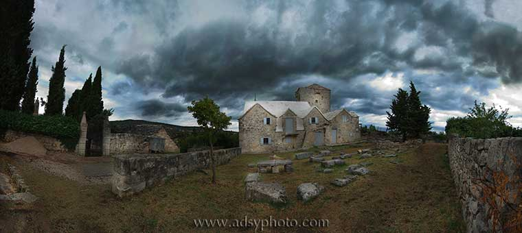 Adsy Bernart photographer travel photography Croatia Brac Skrip Roman graveyard
